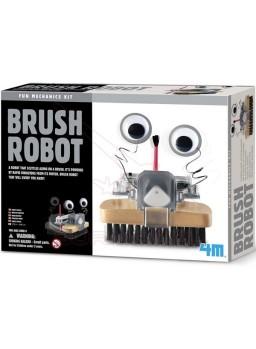 Experimento infantil robot escoba