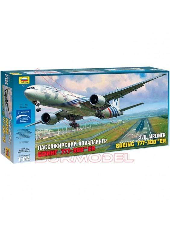 Maqueta Boeing 777-300ER 1:144