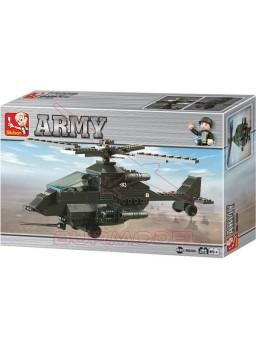 Maqueta de plástico Helicóptero Attack