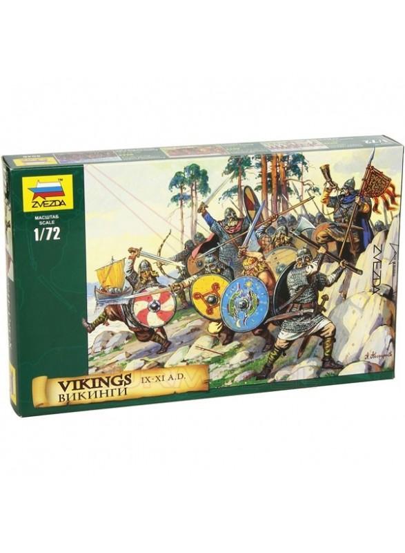 Figuras de Vikingos a escala 1/72