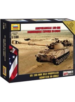 Maqueta tanque M-109 americano escala 1/100
