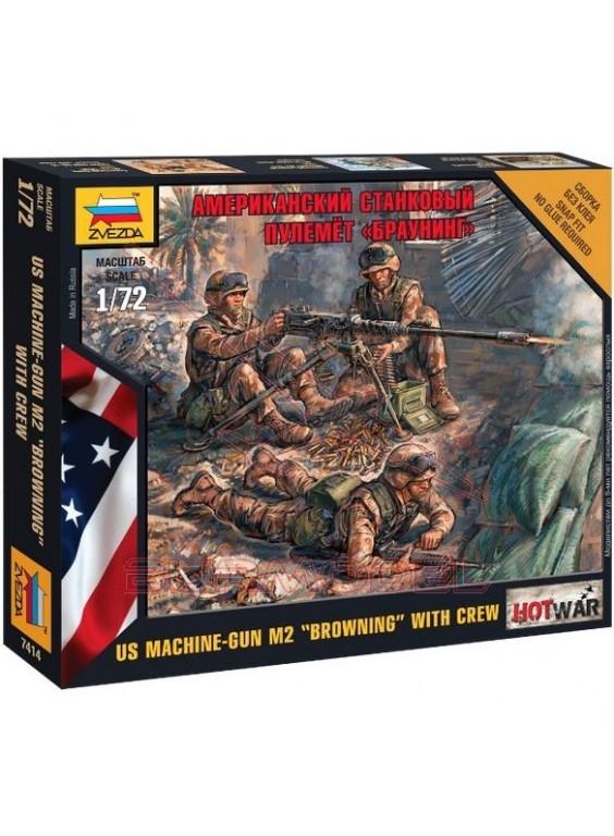 Soldados americanos modernos con armas 1/72
