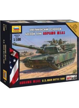 Tanque Abrams M1 A1 americano escala 1/100