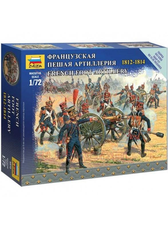 Figuras artillería francesa de 1812-1814 1/72