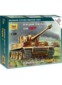 Tanque alemán Tiger I escala 1/100
