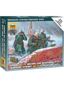 Tropas francotiradores alemanas en invierno 1/72