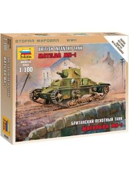 Tanque británico Matilda MKI escala 1/100