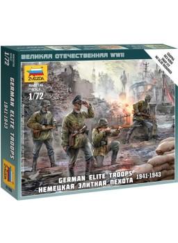 Tropas Alemanas de élite WWII escala 1/72