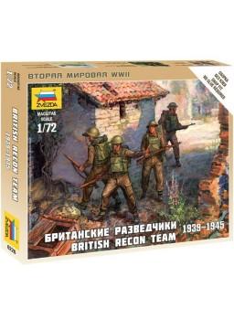 Soldados de reconocimiento británicos 1/72 WWII