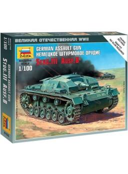 Maqueta tanque alemán Stug III Ausf. B 1/100