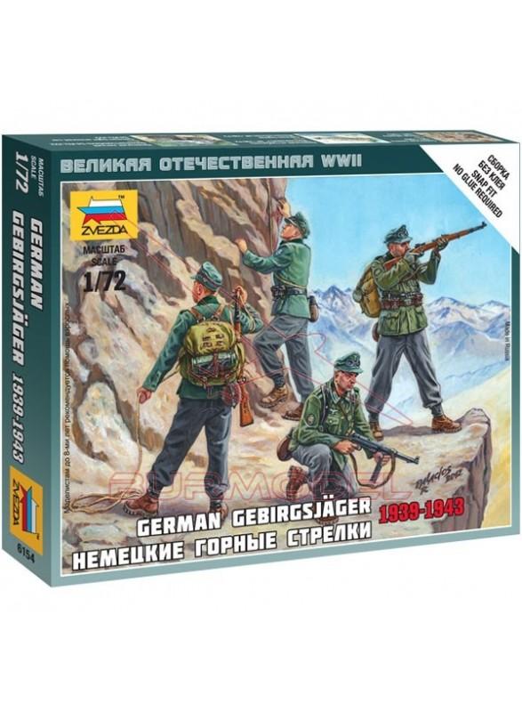Figuras alemanas escaladores WWII 1/72