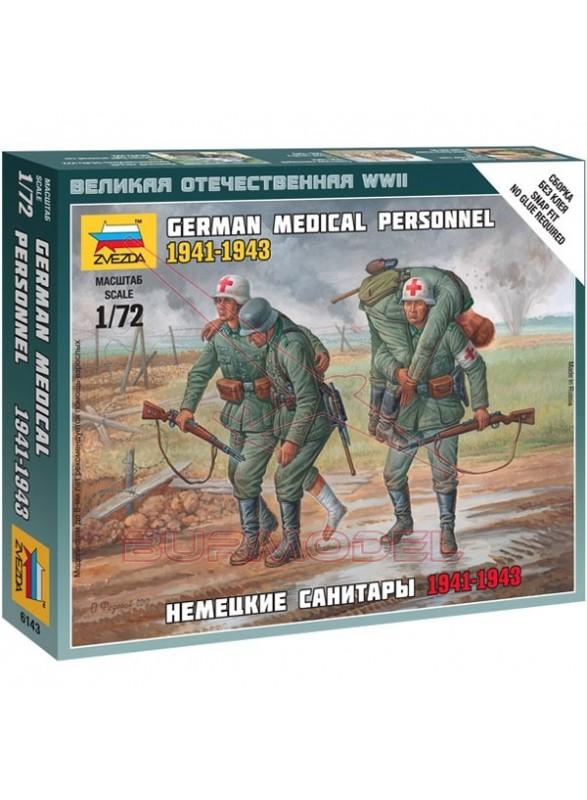 Figuras personal médico alemanes WWII 1/72