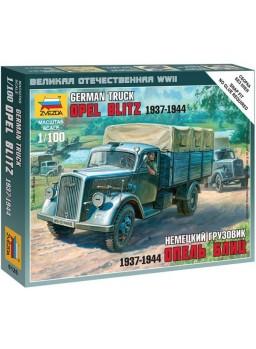Maqueta vehículo militar alemán 3T 1/100
