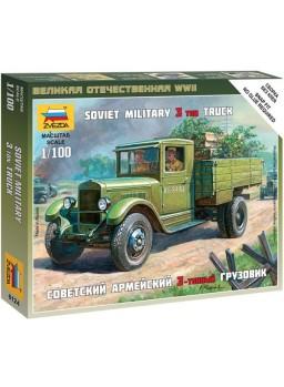 Maqueta camión Soviético ZIS-5 escala 1/100