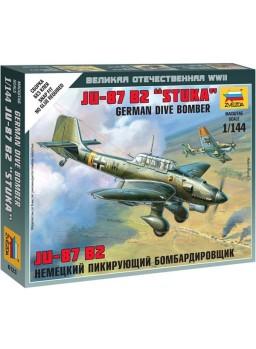 Avión para montar Junkers JU-87 Stuka escala 1/144