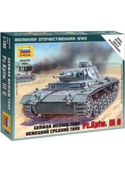 Tanque alemán Panzer III escala 1/100
