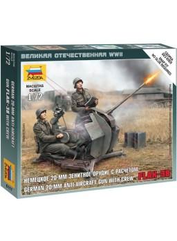 Infantería alemana con armas antiaereas 1/72