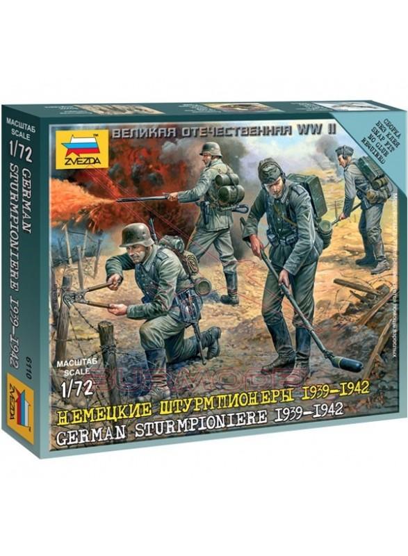 Soldados alemanes de ingeniería WWII 1/72