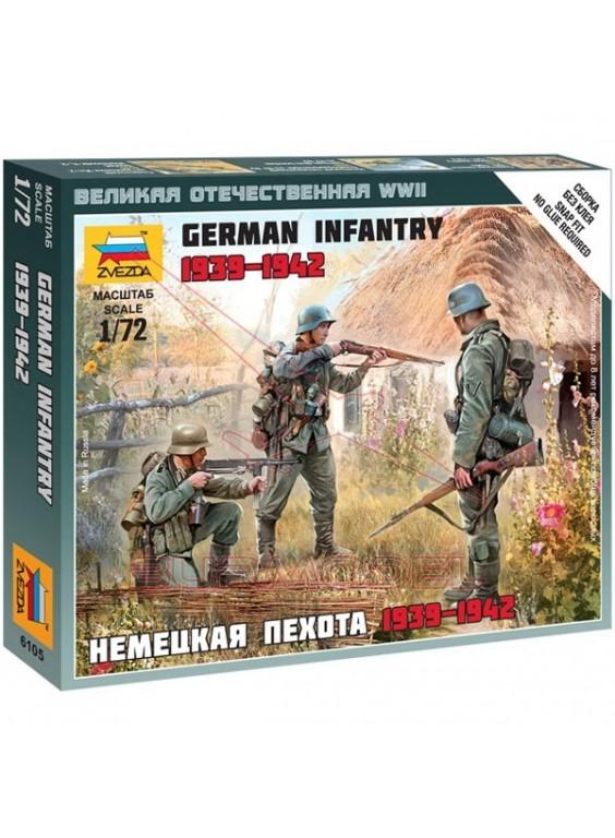 Infantería Alemana del este 1941 escala 1/72