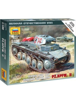Maqueta tanque Panzer Alemán II 1/100