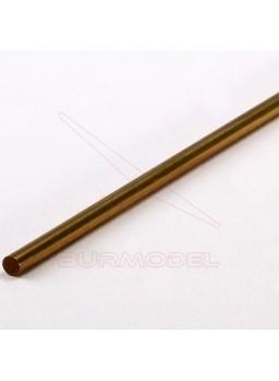 Redondo macizo de latón 7mm (1 metro)