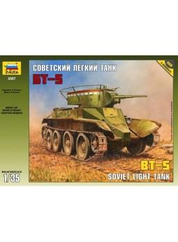 Maqueta Tanque BT-5 calcas españolas 1/35