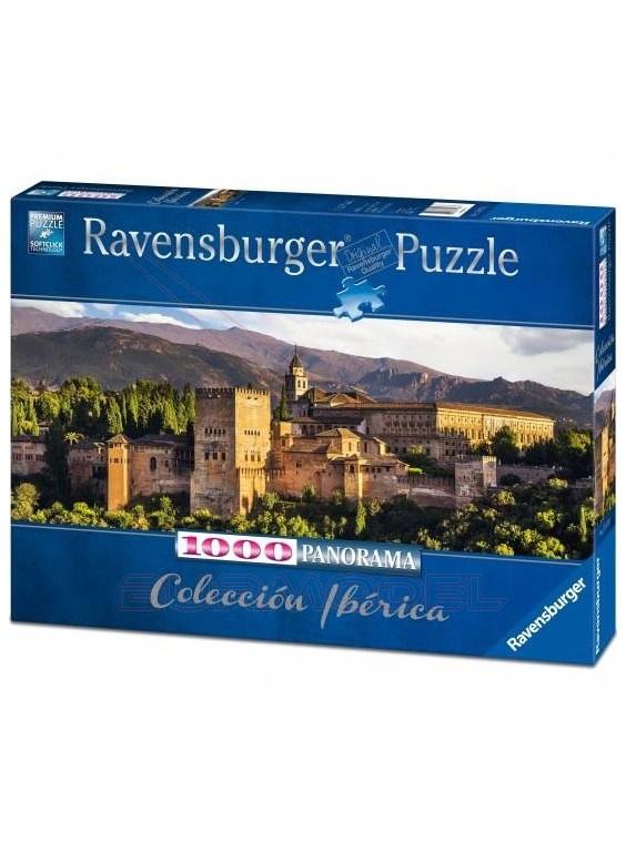 Puzzle Panorámico Alhambra de Granada 1000piezas