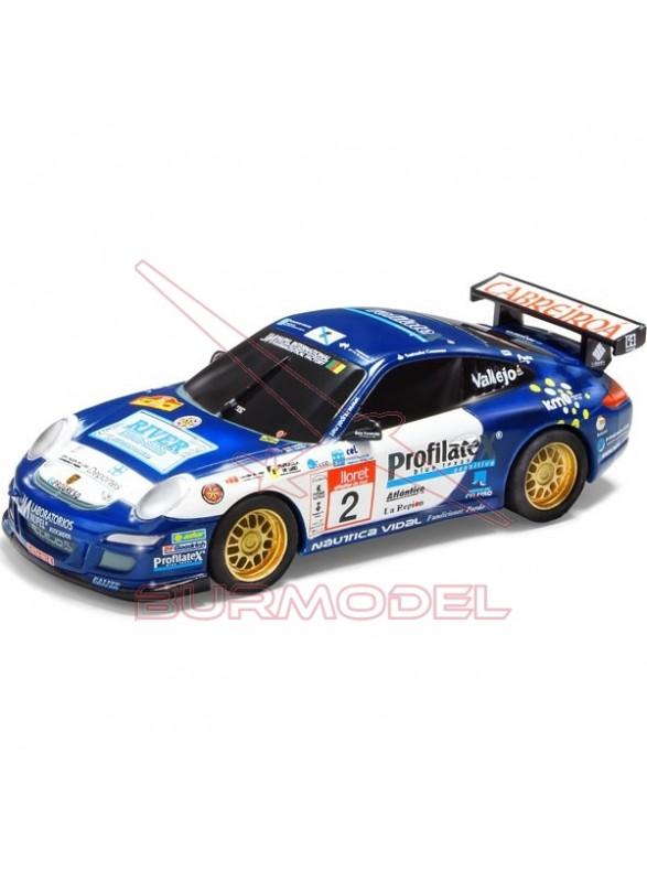 "Coche Scalextric Compact Porsche 911 GT3 ""Vallejo"""