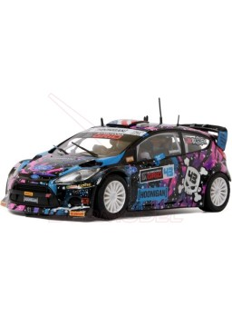 "Coche Scalextric Ford Fiesta RS WRC ""ST-RX43"""