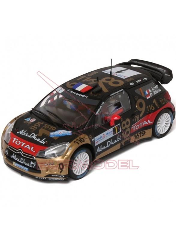 "Coche slot Citroën DS3 WRC ""Loeb-Elena"""