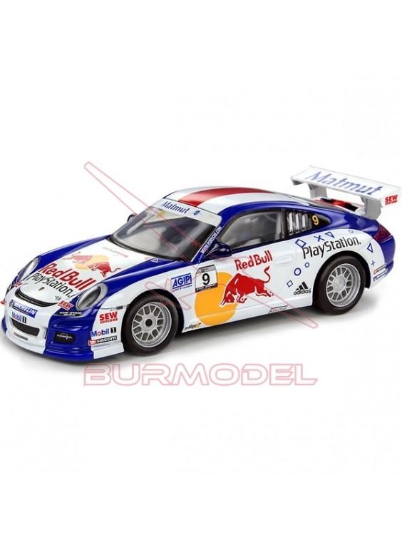 """Coche Scalextric Porsche 911 GT3 """"Loeb"""""""