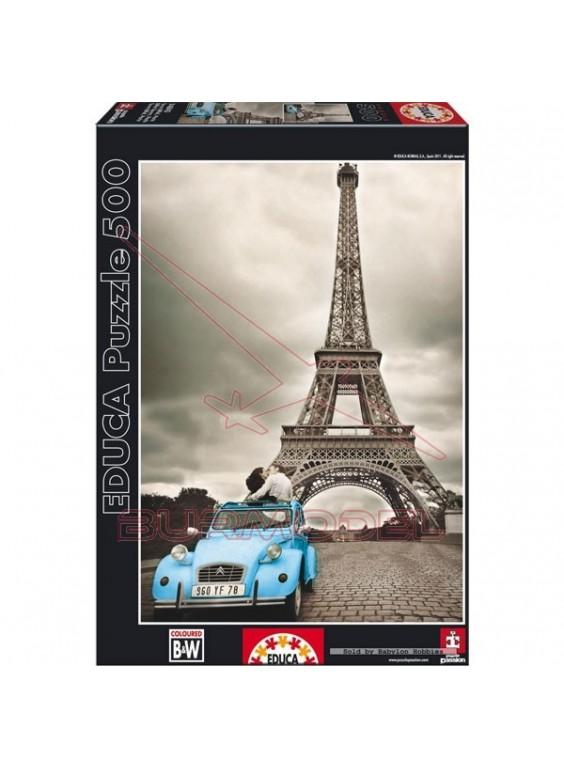 Puzzle 500 piezas Torre Eiffel, Paris