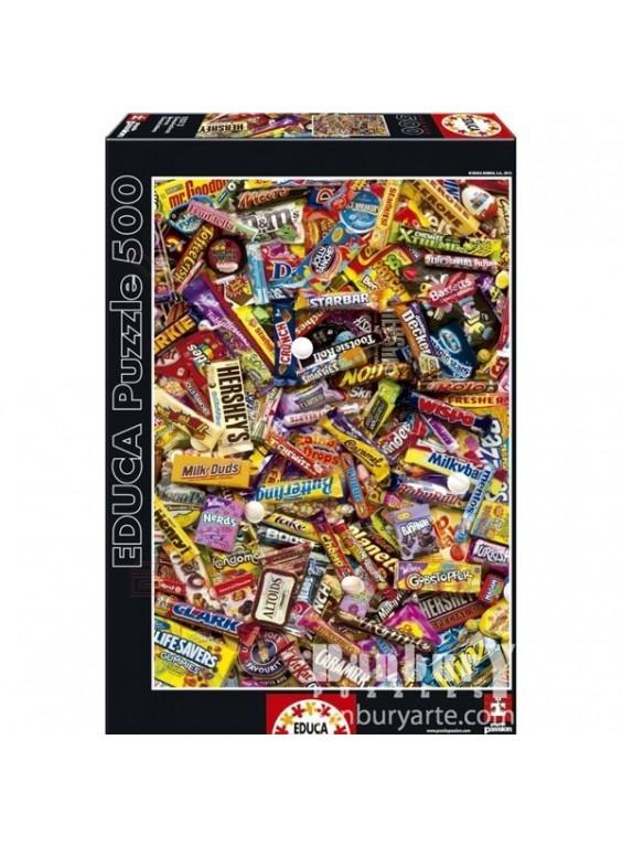 Puzzle 500 piezas chocolatinas