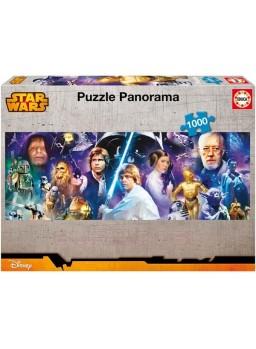 Puzzle 1000 piezas Star Wars Panorama