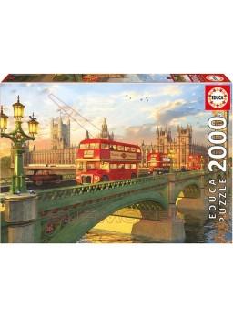 Puzzle 2000 piezas Puente de Westminster, Londres