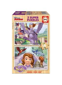 Puzzle 2x16 piezas Sofia