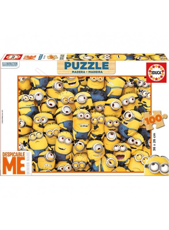 Puzzle 100 piezas Minions
