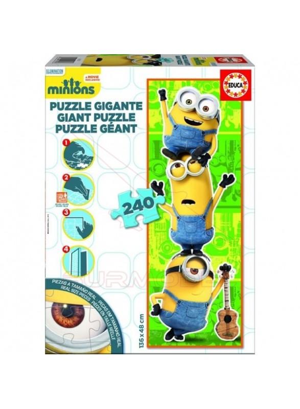 Puzzle 240 piezas decor minions