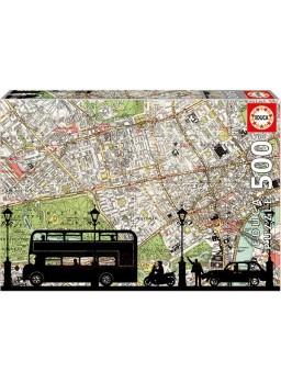 Puzzle 500 piezas Hora Punta