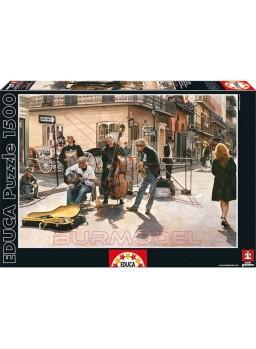 Puzzle 1500 piezas calles de Nueva Orleans