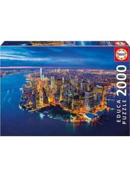 Puzzle 2000 piezas Nueva York desde el aire
