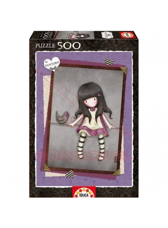 Puzzle 500 piezas My Secret Place, Gorjuss