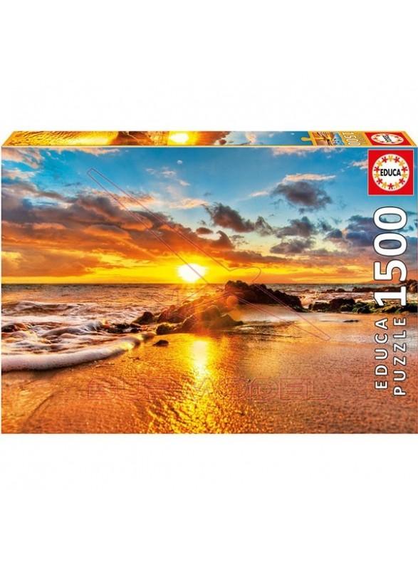 Puzzle 1500 piezas Atardecer en Maui