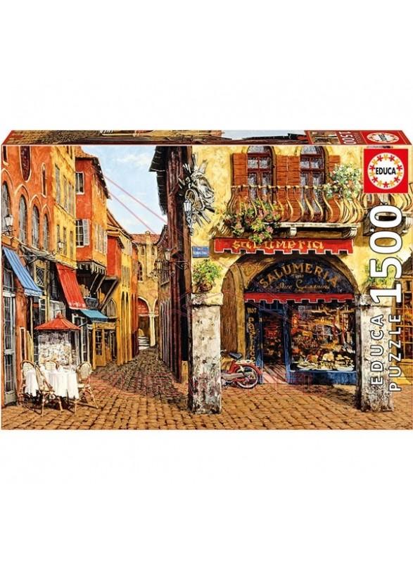 Puzzle 1500 piezas Colors of Italy, Salumeria, Viktor Shvaiko