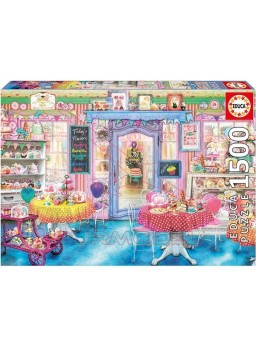 Puzzle 1500 piezas la tienda de dulces