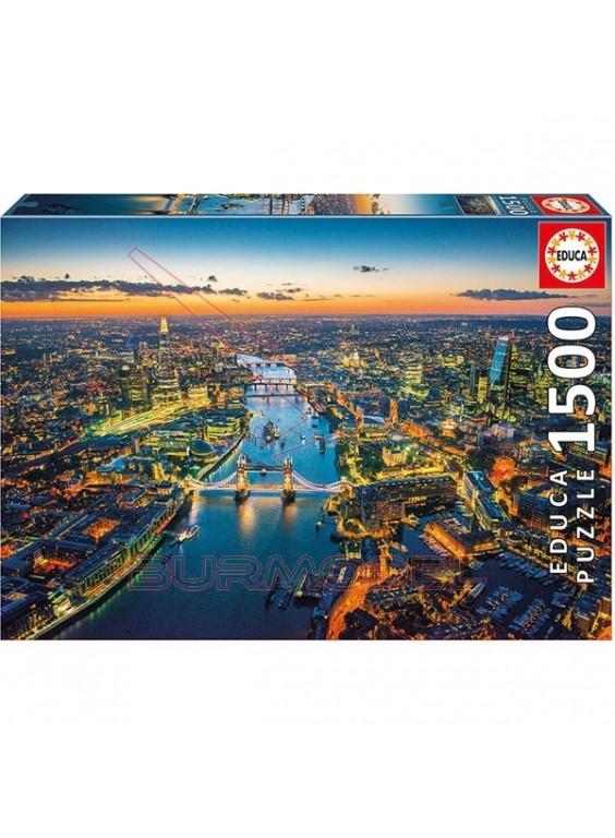 Puzzle 1500 piezas Londres desde el aire