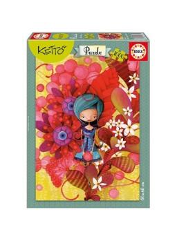 Puzzle 1000 piezas Blue Lady, Ketto