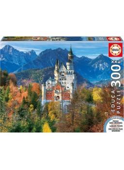 Puzzle 300 piezas xxl castillo de neuschwanstein