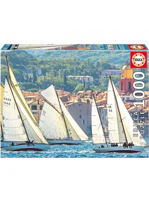 Puzzle 1000 piezas La Regata de Saint-Tropez