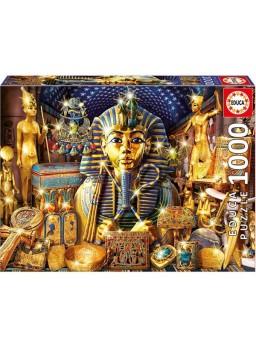 Puzzle 1000 piezas Tesoros de Egipto